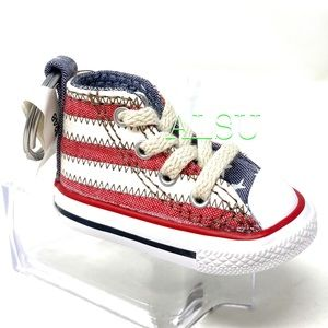 Converse Key  Ctas Sneakers Keychain  USA Stripes
